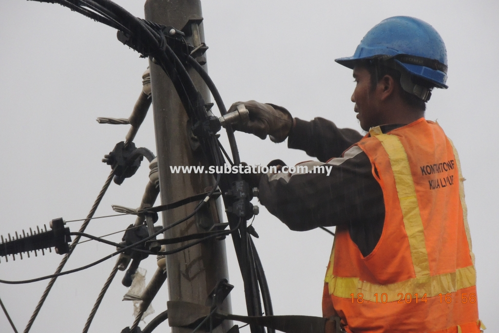 Installing of IPC to Main ABC Cable