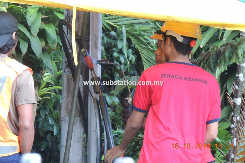 Preparation of Termination of PILC Cable to Black Box