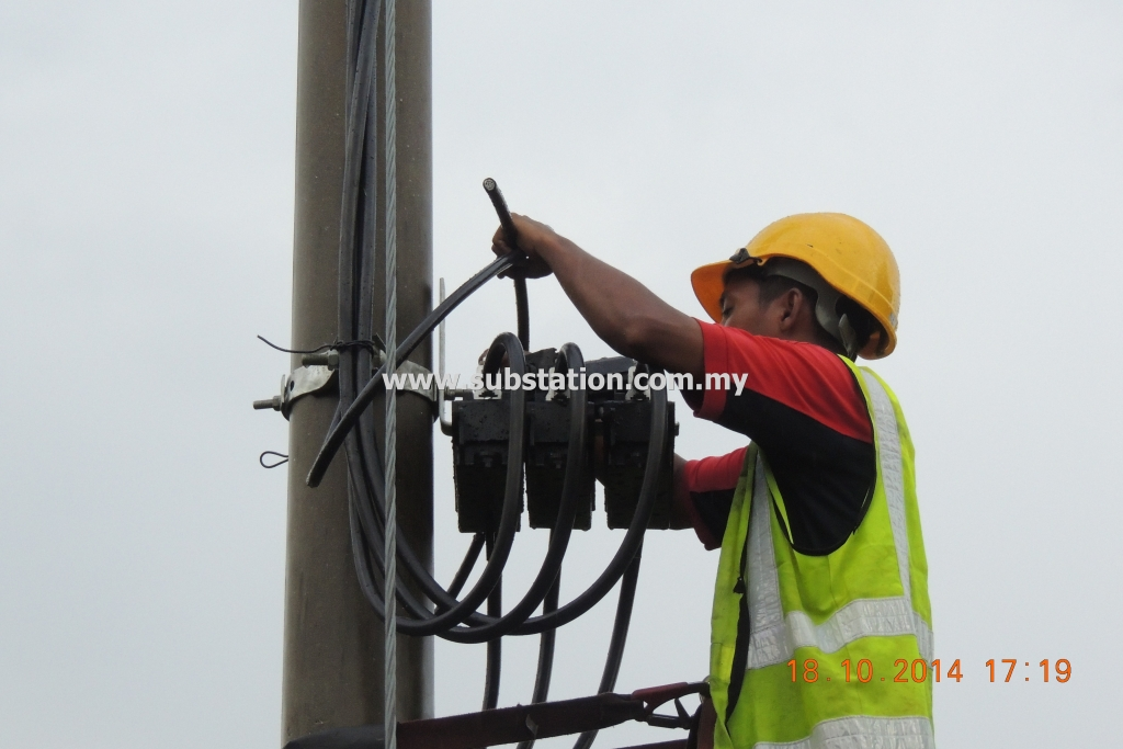 Termination of 400A Black Box Completed on One Side