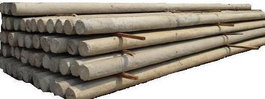 New Concrete Light Pole : Concrete spun pole